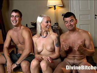 Slaveboy Games Are You Worthy? : Brace yourself for the first installment of Maitresse Madeline and Lorelei Lees Series Eastern European Expeditions!! Good American slaveboys are hard to find, so Maitresse Madeline and Lorelei Lee go to Europe to search for nobel and obedient slaves. Upon landing, they pick up a couple pieces of dick meat to take back to their apartment and begin testing right away. How can one prove they are worthy of the attention from two of the worlds top dominatrices? By taking paddling, choking, spanking, CBT, Edging, tease and denial, anal strap on fucking, prostate milking, and by holding ones load until the body trembles and you are reduced to a pathetic man whore, begging for release.