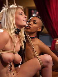 Three Beautiful Sluts Petition the House for Cock : There is more pussy on the Floor than I can keep track of. Between slutty and gorgeous Allie James staring at my cock, Nikki Darling licking her lips, and Mattie Borders running around rubbing her wet little pussy all over the furniture, I can barely keep my mind on my work.
