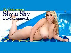 The Shyla Shy Jackumentary : Shyla Shy came our way at the very end of 2008. A Florida girl, Shyla first tried to get into mainstream modeling, like brassiere catalogs, but she was greeted with a chilly reception.br br Id go on calls, and theyd tell me I wasnt tall enough, or my boobs are too big, or I dont weigh the right amount, Shyla said. I was supposed to do another video for a record modeling company. I told them I was 170 pounds, and he said, Send me a picture. So I did, and he said no. He said I wasnt skinny enough.br br Their loss was the T and A mans gain when Shyla tried adult modeling. She saw no shame in this game. I and 8200had no problem with getting naked in front of the camera, Shyla told one of TSGs editors on her first day here.br br My boobs started growing when I was about 12. I always had the biggest boobs of any girl in my class. I thought they were going to keep growing forever, and then they stopped when I was 16. But Shylas jizzable jugs didnt stop growing as you regulars know. If you dont know, youll see in this Jackumentary.br br This special XLGirls Jackumentary is dedicated to Shyla. She has now retired after a very horny four year run, longer than the average model who bares all. We will look back and marvel at Shylas past four years, from her beginning through her Mamazon, pre-pregnant and pregnant scenes and climaxing with her recent post-preggo time.br br Quiet and unassuming, the word shy in Shylas name was not a mistake. But her actions spoke way louder than her words. Its hard to believe that Shyla wont be bouncing and jiggling at the XLGirls studio anymore. But the pictures and videos will always be here to enjoy over and over again.