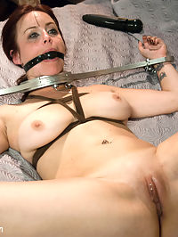 Wife and Mistress Fuck Fest! : In this BDSM fantasy role play, Dannys mistress Penny tries to sabotage his marriage and gets rough punishing anal sex before she is introduced to his wife Bella who is helplessly bound to their bed.