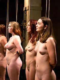 The Auditions Part One : FREE PREVIEW WMV WMV HD MP4 HD iPodThis is a previously recorded event from the Training of O archives published here as a bonus!House owner, Peter Acworth, is very annoyed that the training of Upper Floor slaves is taking so long. Worried that the slaves will not be ready for a Cocktail Party tentatively planned for next month, Peter has asked Lead Trainer, James Mogul, to screen several local applicants and host a full-scale slave audition in the Armorys basement that he will personally oversee. Among the applicants is Satine Pheonix, who shamefully collapsed from sugar deprivation at The First Supper inaugural event. Those who make it through the audition will enter a grueling training program with hopes of eventually petitioning the House for a position among the Upper Floor slave ranks. Join Peter, James, handler Maestro and newly initiated Upper Floor slave Cherry Torn to help test these applicants and decide who is worthy of being trained.