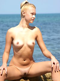On The Beach 1 : Angie T On The Beach 1 by Aztek
