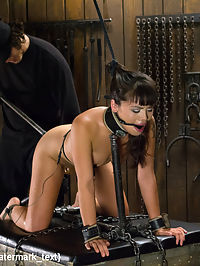 Asian Whore is Shocked and Fucked into Oblivion : Milcah is cute with her braces and tight body. This cuteness does nothing to curb Orlandos sadistic side, rather it inspires him to torment this little slut. She has her ass electrified with a butt plug while being fucked. Her body is contorted and crammed into unforgiving bondage, abused, and made to orgasm until she cant scream any more.