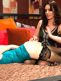 Deep Anal Slut : Two beautiful and perverted girls, Sarah Shevon and Violet Monroe give us a sexy all anal update! Including 18 inch anal penetration, gaping, strap-on, squirting, bondage, spanking and more!