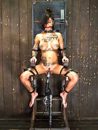 Bonnie Rotten-Uncontrollable Squirting Orgasms!!!! : Bonnie is back and hotter than the first time she visited us. This slut is put in inescapable devices and made to endure hardcore punishment. Upon her reward for suffering, she is given and orgasm, and that s where the water works begin. This whore is so turned on by being tormented, that she cant stop squirting. Her cunt gushes with masochistic pleasure uncontrollably as orgasm after orgasm is ripped from her willing snatch.