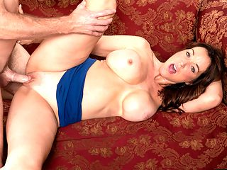 Rachel Does It Anywhere. Including Here. : Rachel Steele, a 51-year-old MILF and porn star, tells us how she got her start in porn.br br It all started with a sexy picture by the pool that a friend submitted to an amateur voyeur website, she said. The picture won first prize, and nothings been the same since. I started shooting and never stopped. I started out by only doing solos, but as I and 8200became more comfortable, I and 8200realized that I wanted to have sex on-camera. I and 8200really wanted that experience, and I fell in love with it. Now I fuck on-camera all the time.br br Like here.br br But she fucks elsewhere, too.br br One time I and 8200gave a guy a hand job during dinner at a fancy restaurant. I dont know how we managed to not make a mess.br br She means how he managed to not make a mess. Well, he did, but Rachel cleaned up afterwards.br br Im very discreet. I must say, though, when he was cumming in my hand, it took all my restraint to not crawl under the table and swallow his load. After we were done with dinner, we went home and had the most amazing sex.br br Theres more.br br Ive had sex in a coatroom at a Boston restaurant. I dont get that many opportunities to have sex in such a public place. It had to be quick, but it was such a thrill. And we almost got caught, too!br br Rachel was born in Maine. She now lives in Tampa, Florida. Shes a hottie with a body. Enjoy.