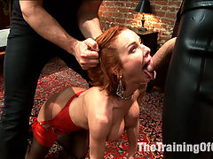 The Training of a Nympho Anal MILF, Day One : Nymphomanic MILF Veronica Avluv is trained to be a domestic cock service slut