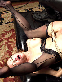 The Training of a Nympho Anal MILF, Day Two : Veronica Avluv is a nymphomaniac anal loving squirting orgasm MILF. When put in a practical domestic setting, her pussy starts to twitch and her asshole dilates in anticipation of hard cock. Beautiful pouting lips wrap around thick cock as nipple clamps pull painfully, bouncing huge tits as she gags down gimp meat.Reverse cowgirl is the go-to position for slave training because it is BRUTAL. Avluv is strongest than she thinks, especially when stuffed with hard dick. Her pussy responds to the merciless pounding by spasming and squirting a quart all over the loft.MILF Avluvs final test for the day is pile-driver anal. Ass up and open, she is unbelievably sexy in this ass pounding pussy squirting scene.