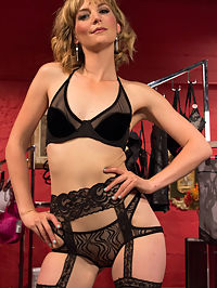 Panty thief pumped full of viagra then teased and denied by three mean lingerie store bitches! : Jay Rising gets caught sniffing panties in a lingerie store and is severely punished in the back room by the devastatingly sexy and mean lingerie store clerks. Jay is stuffed full of viagra. While the babes wait for it to take effect they whip, beat and humiliate him. Hes lead to believe hes going to be used as a sex slave but they smash his cock in a see through cock smasher and tease the hell out of his viagra throbbing cock. His cock drips with cock fluid aching for any attention but the girls just keep sitting on his face making him worship their pussy and asses and leave him there a dripping, throbbing, squashed mess!
