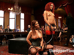 Anal Punishment for Submissive Service Sluts : This House needs more MILFs! Gorgeous anal MILF Syren de Mer attempts to unseat the young upstart resident House Slave, Daisy Ducati for the role of Alpha Slave. But when both slaves fuck things up, they are both punished with brutal ass fucking till they repent for their wayward ways.