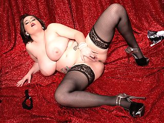Treasure Chest of the Sunshine State : Alana Laces big boobs and her wet pleasure-slit need tender loving care at all times. If theres no man around to tend to her, her toys or her fingers will do the trick. Alana goes three fingers deep, her huge breasts trembling and jiggling. Heres a girl who is proud of her tits and were very lucky she is.br br Alana reminds your veteran editors of the girls of the Big 90s. Super-natural, super-breasted, earthy, girl-next-door types that remain very difficult to find in this over-buffed, Botoxed, filler-injected, lipo-suctioned era in both mainstream and adult modeling. Girls like Lisa Miller, Michelle, Effie, Chloe Vevrier and in more recent years, Elaina Gregory, Sarah Rae, Natalie Fiore and Nikki Smith.br br Jack writes Alana Lace is one of the finest babes that The iSCOREi Group has ever presented to their readers and subscribers. Please convince this lady to do full-blown penetration sex in a boy-girl scene. Alana is very beautiful and exceptionally desirable and Alana is one of the hottest babes you have ever provided to your audience.br br iSCORELANDi has had their Alana full-sex show. A boy-girl scene is coming to XLGirls.com on May 30th, 2014.