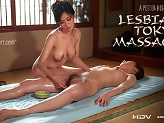 Tokyo Lesbian Massage : When these two gorgeous girls got together, their imagination ran wild.It was only meant to be a gentle massage. They thought it was just to be one girl stroking another. They did not realise the strength of their desires. The heat built up. Maybe it was the way she stroked her friends ass that got them both so carried away. It could have been them squeezing each others nipples. Pleasure piled on pleasure until finally the longed for climax exploded.Then they lay satisfied at last in each others arms.