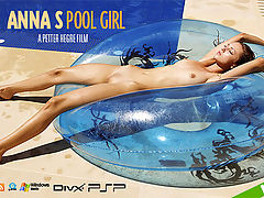 Anna S Pool Girl : Heres an invite you dont want to miss Anna S invites you to join her poolside for a spot of skinny-dipping! Yes Anna is back and the sun is shining what better way to cheer yourself up! Anna isnt doing much, just hanging out by the pool, lazing the hours away in the sunshine on the inflatable But thats the point! Anna doesnt need to do anything the camera does all the work slowly taking in every inch of her gorgeous firm body and you get to simply sit back and admire the view. Bliss! Effortlessly sexy - enjoy a spot of rest and relaxation with Anna S!