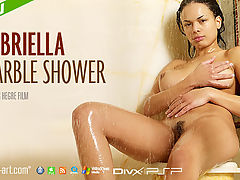 Gabriella Marble Shower : Here she is making her film debut for Hegre-Art - its Gabriella! And what a debut it is...One of Gabriellas simple pleasures in life is taking long showers and in this weeks film she invites you to join her for a very hot and steamy shower session. Prepare to be mesmerised as her hands glide up and down her curvaceous body, caressing those full, firm breasts.And as her hands slide lower and lower down her taut stomach Gabriella can no longer hold back. She needs to surrender to her desire for pleasure...Erotic, hot and totally unmissable - enjoy this films incredible climax!