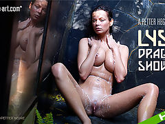 Lysa Dragon Shower : New model Lysa is back and inviting you to join her for a nice soapy, wet shower!After a full day of shooting on the beaches of Thailand, Lysa just wanted to take a nice cool shower. Fortunately for us Petter Hegre captured it all on camera.So join Lysa for a sensual shower and savour the moment as she caresses her lovely curvy body all over as the water drips off her naked tanned skin. Lysa gets a whole lot of pleasure from massaging herself expertly and intimately. We guarantee that watching her will make you feel good all over too!So enjoy the view as Lysa invites you to watch her getting wet in these very sexy shower scenes!
