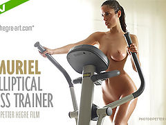 Muriel Elliptical Cross Trainer : At last here she is - Muriel is making her film debut for Hegre-Art.com and oh what a debut this is!Curvaceous Muriel knows just how important it is to keep in shape and in this exclusive new film you get to join her down at the gym for an all naked, all bouncing work-out!So enjoy watching Muriel as she puts her gorgeous body through a good, hard exercise session. But be warned - Muriels workout is more likely to leave you out of breath and with your pulse racing...So hot, so sexy -feel the burn Hegre style!