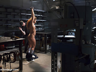 Squirting Shop SlutA Device Bondage Feature : In this fantasy feature, we have Savannah showing up late to work again. Her boss gave her the job as a favor to a friend, but this slut just cant get anything right. His fuse is getting shorter and shorter, until he finally lets Savannah know what he really thinks of her.