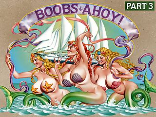 Boobs Ahoy! Part 3 : Chapter 3 is the last segment of iSCOREis DVD Boobs Ahoy! Boob Cruise 2000 was the fifth and final voyage. Friday, May 5th, 2000 was the last evening of this journey. The following day, everyone disembarked for home or for other ports of call.br br The end of anything that is good and pleasurable and gives a boob-man wood is always painted with a coating of sadness. So it is was with the last Boob Cruise. This voyage was more of an experiment since only four seasoned Boob Cruise Girls returned from previous trips Linsey McKenzie, Casey James, Minka and Dawn Stone. The rest of the girls were sea-virgins. They were all special in their unique, individual ways.br br As for the passengers, this Boob Cruise was a reunion in many ways since so many were repeat guests from many countries including America, England, France, Germany, Japan and Belgium. There were several female passengers too, including future iSCOREi Girl Morgan Leigh who was inspired to emulate the women she partied with.br br It was in August of 1994 that the first Boob Cruise set sail from Grenada. It was originally called Boob Camp. That didnt fit the seafaring nature of this event. Boob Cruise was a better name for that inaugural event which blossomed into five sold-out special editions. There are hundreds of former passengers with shelves full of great pictures they took themselves. Some of the guys still keep in touch to this day and even visit.br br Its been 14 years since the Cruise reached home port in St. Thomas on May 6, 2000. To this day, iSCOREi receives correspondence asking when the next Boob Cruise will sail.br br Going into Boob Cruise 2000, I had heard so many superlatives about it but I had some skepticism, admitted Alyssa Alps who wrote the ships log for the magazine and actually modeled on the last day after declining all week. How could anything be that good? I used to think. Now I know. And I realize that all of the comments I had heard about iSCOREis Boob Cruise did not do it justice. It truly is the experience of a lifetime.br br Other companies have tried to copy the Boob Cruise and failed, not realizing the enormous challenges it presents. Will it ever sail again? Windjammer is out of business. The logistics of putting a Cruise together are numerous and complex. It takes a full year to plan. Ever the optimist, CEO John Fox says never say never.br br People have suggested that if getting a ship is too complicated, then have a Boob Cruise-type week at a resort. But no landlocked convention can capture the spirit of adventure and freedom. It wouldnt be the same.br br I have such fond memories of the Cruise, said Boob Cruiser Brian. Certainly no other event has made an impact on my life like that of the great Boob Cruises. The best tits, the best time, the best trip ever!