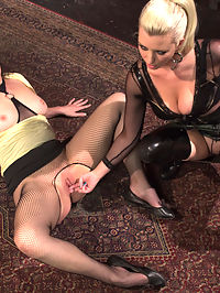 Multi Orgasmic Lesbian Slut : The sexual attraction between these two women flies off the screen and we had a hard time keeping them off of each other between scenes! Welcome the gorgeous Sovereign Syre to WhippedAss.com! Sovereign loves to fuck women and its obvious from the amount of orgasms Mistress Cherry Torn rips from between her legs. Sovereign is dying to be punished and to please her mistress. Multiple orgasms, hard spanking, ass and pussy licking, nipple torture and strap-on ass fucking are all included!
