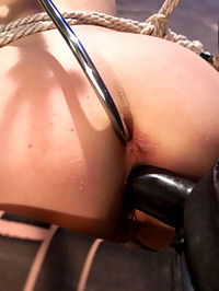 Suffering and Orgasms : Lily LaBeau returns in an explosive sadistic dungeon scene with Bella Rossi on top. Lily suffers beautifully at the hands of her cruel lezdom mistress in restrictive bondage taking humiliation, spanking, whipping and caning. Shes made to lick Bellas gorgeous round ass and has uncontrollable orgasms ripped from her cunt when Bellas decides to fuck Lilys asshole too, taking an anal pounding until she cant cum anymore.