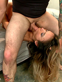 Bound for Protection : Nadia Styles returns to Sex and Submission with Tommy Pistol in this kinky role play with rough sex and bondage.