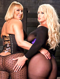 Busty Anal : Alura Jenson and Mellanie Monroe team up to explore each others anal abilities.