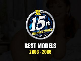 Best Models : Two of the editors at The iSCOREi Group agree that 2003 was one of the greatest years in the companys history for discovering iSCOREi, V-mag and XLGirls. That year brought Cherry Brady, Ines Cudna, Nicole Peters, Brandy Talore, Sapphire, Sunshine, Devin Taylor, Maria Moore, Casey Cleavage and Angela White, just to name a few. Maria Verbeck was a Dane who had never modeled before and after her time at XLGirls, never appeared anywhere else. I didnt measure my breasts when I was growing up, Maria said. I just knew I was much bigger than all the other girls in school. I feel they are my special gifts. In America, there is an urging for girls to become skinny, not to be proud of a big body. It is different in Europe.br br Cherry Brady, outspoken in her feelings about breast reductions and the doctors who promote them, has the energy and motivation of three women in one curvy, hourglass body. Cherry developed a huge fan following. I dont try to emphasize my breasts by unbuttoning an extra button. But I dont try to hide my cleavage, either. That would be impossible. A lot of people at work, all women, of course, have complained about the way I dress, so Ive had to point out that I wear the same type of clothes as every other secretary. I just fill out my clothes differently.br br Scarlett Webb won Plumper of the Year for 2005. Her very beautiful face lovely body and enormous 38-inch boobs charged up the voters. At home, I usually am naked or wearing panties and a tank top. I cant wait to take my bra off when I walk in the door! I prefer to walk around naked. If I am wearing a dress, I wear no panties underneath. The rest of the time I prefer wearing thongs, g-strings and cheeky shorts.br br Mirandas personality is as powerful as her body and she was outspoken in her comments about Italian and American men. I think American men are the best lovers. Theyre more dirty and more fun. Everyone thinks Italians are Latin lovers, but I think theyre fake, like actors. American men are more honest. If they want to fuck you, they say they want to fuck you. Italian men wont just say it. They want to fuck you, but they have to say, Oh, I love you, you are so beautiful, and other crap. I like the American way much better. I dont like the bullshit. Its better when a man is direct.
