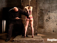 Casey Calvert Anal Hooked and Gagged : Casey is put through her paces by the relentless Sgt. Major. Casey endures tight ropes, humiliating positions, strappado, ball gags anal hooks, pussy penetration, clit vibe and overwhelming orgasms.