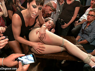 Everyones favorite girl next door- ass pounded in public! : When members saw Casey Calvert getting her ass licked by Roxy Rox for Roxys public Disgrace, they demanded we put her in a PD for herself.httpwww.publicdisgrace.comsiteclipsflash.jsp?shootId35539 So here she is! Casey Calvert is the perfect girl next door. Who knew what a perverted little whore she truly was!!! Casey has no problem putting up with the humiliation of getting fucked in public. Her tight little pussy gets pounded until it is red, she eats pussy and takes huge cock deep down her ass-hole and begs for more.