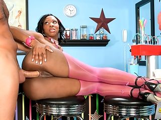 High-Quality Fuck : Kiki Carter is a low-maintenance chick. You can leave all the bells and whistles at home with her. For example, if you ask her what her perfect idea for a date would be, her answer is pretty simple.br br Just having a good time and not overdoing it, she said.br br Or what she finds sexybr br A naked, muscular guy, she said. I just want to get fucked. I love dick. Especially when its in my mouth.br br Knowing that Kiki has a taste for cock and lollipops, we decided to hook her up with our boy Peter. He has a candy shop filled with treats in nearly every flavor. And of course, hes got Kikis favorite man-meat treat tucked away in his pants.br br After tasting a few of Peters most choice lollipops, Kiki pulls his throbbing cock out of his pants and gets to work. This is what she wanted all along, and Peter gives it to her in every hole. He fucks her face, then her cunt and even pops his fat cock into her ass. And when youre fucking a chick with an insatiable taste for dick, youve got to drop a heavy load on her trunk, and Peter drops a big one. Yeah, Kikis a low-maintenance chick, but shes a high-quality fuck.br