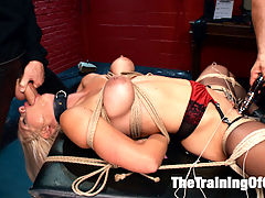 Anal MILF Training Holly Heart, Final Day : Slave trainee Holly Heart is fucked hard in all her slutty holes on TrainingofO.com!