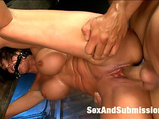 MILF SUBMISSION : Shay Fox is an extremely horny and submissive woman with an incredible body and filthy mind. Watch this super sexy MILF get put through her paces with domination, rough sex and bondage!