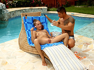 Pool Boy : Pool Boy featuring Leyla Black and Zack by Als Photographer