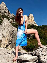 mountain top : Eva U.