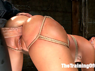 India Summers Principles of Servitude, Day Three : MILF Slave Training India Summer has the most rockin body, especially when it is tied up and getting fucked hard in the ass. But first she has to learn her lesson a terrible predicament bondage session that teaches her the Principle of Obedience.