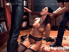 India Summers Principles of Servitude, Day Two : Gorgeous, horny MILF of the Year India Summer is put into a domestic setting and taken down a notch on her journey to learn her Principles of Servitude. Hard discipline, painful predicament bondage, hard anal and pussy fucking, face fucking all stand in the way to learning her lesson.