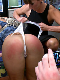 Body like a goddess, mind of a whore! : Candice Dare in her first Public Disgrace! She has the body of a goddess but the mind of a whore. She begs for her perfect ass to be spanked, throat fucked and used as a doormat. But that is only the introduction to what Ariel X has in store for her!! She gets bound to a 6 foot tall wooden penis and fucked hard while the crowd fondles and spanks her. Next she has an electric Butt plug shoved up her greedy asshole while being stuffed with cock. Rough sex, DP, throat fucking, anal, Bukakke.