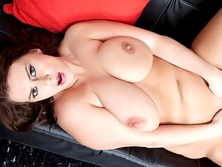 I Will Be A Butt Slut Forever : I wish your big cock was here right now for me, Aimee Jackson says as this scene opens. Im so horny and I want it deep inside me. I want your cock in my ass now. I want you to fuck my ass.br br We dont care who you are, if a girl--especially one who looks like Aimee--begs you to fuck her ass, you drop everything, pick up your cock and do it. Its still surprising to us at times how freaky and addicted to anal sex she is. If we googled girl-next-door, were pretty sure a pic of Aimee would be among the top results. But shes a nympho, too. One of the biggest youll ever meet, and seemingly turned on by even the slightest sexual reference.br br Her nipples are already fully-erect when she pulls off her top and bra.br br I want your cock right now, Aimee says. Im so fucking hot. My nipples are so hard. I want your cock right here between my tits.br br Aimee takes off her jeans and begins to stroke her pussy. Slowly at first, then she picks up the pace. Aimees pussy juices are dripping onto the black sofa shes laying on, and she slides her right arm under herself to finger her asshole while she strokes her cunt.br br Right here, she says. I want that big cock right here.br br Stroking her clit and fucking her ass, Aimee quickly pushes herself to an orgasm.br br Oh, its so sensitive now, she says stroking her erect clit as she comes down from her climax. You want me to cum again?br br We could watch you do this all day, Aimee. She begins fucking herself even harder while still stroking her pussy. Her moans grow louder and louder and soon, shes cumming once more. Finally, she pulls her fingers out of her ass and sticks them into her pussy, which is now dripping wet, then pulls them out and rubs her juices all over her tits.br br Oh, I love when you fuck my ass, she says. I love when you cum inside of it.