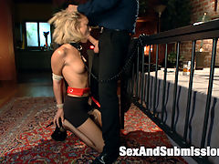 Rescued for Anal Services : Dakota Skye is made into an obedient anal slave when she gets picked up off the street by a powerful and perverted man, Tommy Pistol. Innocent looking and petite, Dakota gets put through her paces in some intense rough sex and bondage positions.