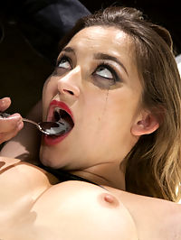 The Objectification of Dani Daniels : Big Tits, Big Ass, Hot Pussy and a gorgeous face wrapped in Latex. Lets take Dani Daniels apart piece by pieceTits First we cover her in latex and strap her to the Whipping Post to fetishize those gorgeous, big natural tits. Mouth Next on her knees if you please, with a Sybian strapped between her shimmering thighs and a hard cock in her mouth. Ass Bent over in a ass-less latex skirt to reveal and play with a perfect heart shaped ass.Pussy On her back for a hard pussy fucking finished off with a deep cream pie come shot, spoon fed to our little fetish princess.