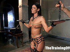 The Principles of Anal Servitude, Final Day : India Summer becomes an Anal MILF Slave when she graduates from the Training of O. MILF of the year endures pain, discipline and physically grueling sex positions on her four day journey through our slave training program. Todays finale emphasizes what she learned, and what she has become.