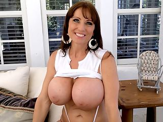 Chat With A SCORE WILF : iSCOREis studio manager spends a few moments chatting with new iSCOREi Girl and readers wife Shelby Gibson in this Bonus video shot on-location. Super-slim, beautiful, trim and stacked, Shelby reminded the veterans here of the classic iSCOREi-Girl look of the Big 90s.br br Shelby loves art, loves to paint and work out. Her husband encouraged her to model. Shelby was going to send in her at-home pictures five years ago and almost did after taking them at home but she changed her mind, not feeling she was ready for this step. Now, five years later, Shelby is ready! And how!br br Some things take time, cant be rushed and are worth waiting for.br br Thank you, new iSCOREi babe, Shelby Gibson.