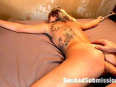 Blackmail, Bondage and Butt sex oh my! : Fuck toy Zoey Monroe lives out her SAS fantasy with James Deen in this sexy hard core role play. With deep throat fucking, anal sex and squirting orgasms!