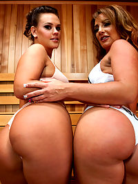 Sauna Babes and Freaky Enemas : Two of our most outrageous anal girls meet for the first time in this ultra extreme anal fuck fest. Roxy and Savannah have beautiful asses that can swallow up just about anything. Fisting, squirting, large dildos and ass licking in a hot sauna with intense orgasms is filmed in great detail in the first 50 minute portion of this movie. If thats not enough, we give you a bonus 30 minute freaky fetish enema scene with outrageous colorful blowup toys and more hardcore fisting. The worlds most extreme and sexiest lesbian anal website delivers the goods once again.