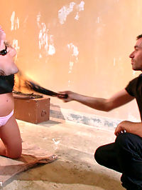 Blackmail, Bondage and Butt Sex : Fuck toy Zoey Monroe lives out her BDSM fantasy with James Deen in this sexy hardcore role-play. Zoey gets put through her paces with rough sex and corporal punishment. She also receives a deep pounding in her ass while tied face down to a bed and her legs spread for easy access.