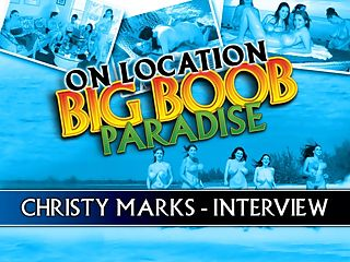 Christy Marks Interview : Its always a pleasure to listen to what iSCOREi Girls have to say. The staff has always brought a human approach to the presentation of the pictorials and videos and tries to get to know them as real women, not stereotypes. Other adult entertainment companies dont care for this approach and revel in dehumanizing the girls so that they are basically described as whores for doing exactly what they are asked to do. Its a form of commercialized slut shaming.br br Christy Marks had no great aspirations in adult modeling. She enjoyed expressing her heated yet girl-next-door horniness and being catapulted into the spotlight--seen all over the world in centerfolds and DVDs. Guy can relate to her because of this down-home personality. She could be that busty waitress at your local lunch place, a student teacher or that girl who works in a doctors office.br br Who was Christys favorite girl on this trip?br br Angela White, hands down, Christy said. She was really into it. Personality-wise, she was the best. And Gianna Rossi was really good. Id have to say that my best girlgirl scene was with Gianna. The chick knows what she is doing. She is good at what she does.br br What did Christy herself like to watch...besides her own scenes? I love lesbians. I dont know if thats a fetish. I watch a lot of porn at home, but its all lesbian porn. I dont watch regular porn. Lesbian porn is my favorite. It gets me off. I like girls with big, real tits. Like mine.
