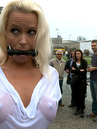BEST OF EUROPE Beautiful German Milf Bound and Fucked in Public : We are back on the streets again! This weeks update is the first shoot from our latest trip to Europe. We get a smoking hot German Milf, bind her, fuck her, and leave her on the street covered in cum!