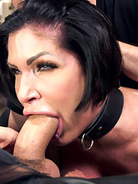 Big Tit MILF Faces Her Fears to Get Dick : Shay Fox is terrified of small spaces but wants to face down her fears on Training of O. So we put her in tight bondage, bolt her head into a box, then put her into another box and screw the lid on. Her pussy is vibrated the whole time and she is told that the only thing to fear is what she brings into the dark with her.Our brave MILF survives the box, but before we are done she must show us what she learned and get fucked by the gimp while her head is bolted into a confining head box. Its pure objectification and fear play on Training of O, the ONLY slave training web site of its kind!