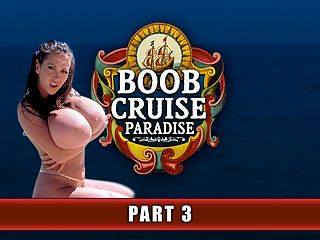 Boob Cruise Paradise Pt. 3 : What did it mean to sail on the Boob Cruise? It meant staggering to bed every night at four a.m. and waking up two hours later for another day of action and a new island. It meant eating at a busy table of busty shipmates where there is never a silent moment. It meant dancing with a scantily-clad girl who laughed when her big tits fell out of her dress. It meant looking at a pure black sky and noticing the stars like never before. It meant the heady scent of suntan lotion and sweat emanating from suntanned girl-flesh. It meant living in your own separate world, and whatever was happening back home, well, that didnt matter. The ship was the world.br br This ship, the Star Clipper, sailed to Anguilla, Prickly Pear Island, St. Maarten, Tortola, Virgin Gorda and other islands that most people know about only from travel magazines and television.br br This leg of Boob Cruise Paradise kicks off with the morning aerobics class on deck. This daily workout was open to everyone although most of the guys were still sleeping off the previous night or on their second cup of coffee. A few were on the sidelines watching the big beautiful show as the girls in their skimpy gym clothes moved in unison. Morning and early afternoon photo shoots were the order of the day, both on the deck and on Virgin Gorda. The evening was for dinner followed by strip shows performed by the greatest exotic dancers and then climaxing with partying all over the ship until early morning. The booze and the boobs flowed freely.br br Wrote Chuck, returning passenger and the ships log master that year, To be appropriately blunt, and from talking to the guys, I think I speak for everyone who went on Boob Cruise 98, the only bad thing about this entire week is leaving! I swear, if somebody were to handcuff all of the passengers and girls to the ship and hand me the key, Id toss it overboard!br br I tell everyone that Boob Cruise 98 was the wildest week of my life, recalled passenger P.R. And that includes innumerable Mardi Gras, fraternity parties, bachelor parties and other parties. I came for the women, and they were everything I thought theyd be and more, but I also enjoyed my stay due to the great guys I met on the Cruise, the SCORE staff and the whole sailing experience!br