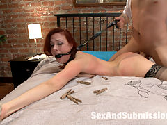 The Disobedient Wife : Watch the sexy and beautiful Chanel Preston submit to hot and dominant James Deen in this BDSM domestic fantasy role play. With deep throat cock sucking, electricity, corporeal, anal and hard core fucking. Bad wifey!